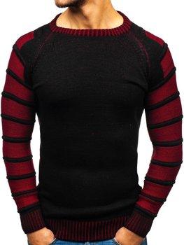Чоловічий светр чорний Bolf 6007