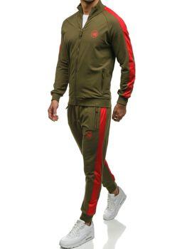 Чоловічий спортивний костюм хакі Bolf 0944
