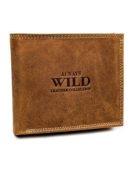 Чоловічий шкіряний гаманець світло-коричневий 7924