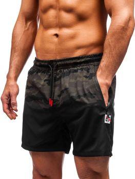 Чоловічі пляжні шорти камуфляж-хакі Bolf 5741
