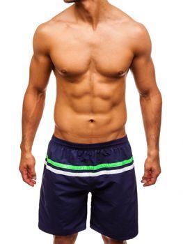 Чоловічі пляжні шорти темно-сині Bolf Y765