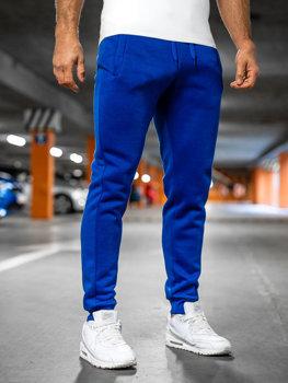 Чоловічі спортивні штани кобальтові Bolf XW01