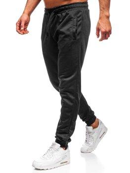 Чоловічі спортивні штани чорні Bolf JZ11001