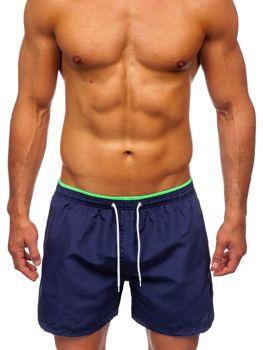 Чоловічі темно-сині пляжні шорти Bolf 303