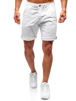 Чоловічі шорти білі Bolf 5919