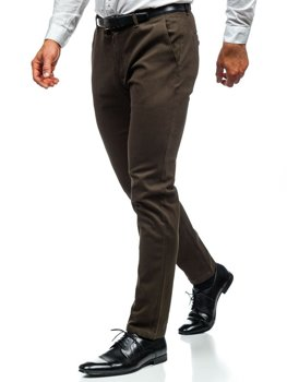 Чоловічі штани чінос хакі Bolf 1120