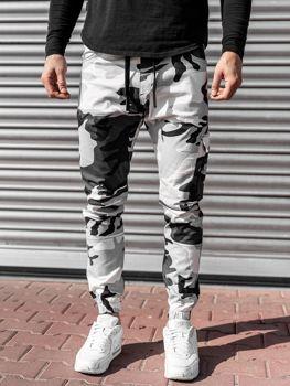 Чорно-білі чоловічі джоггери Bolf 11104