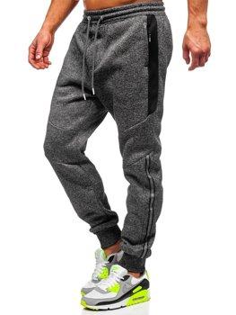 Чорні чоловічі спортивні штани Bolf TC984