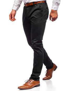Штани чінос чоловічі чорні Bolf KA6807