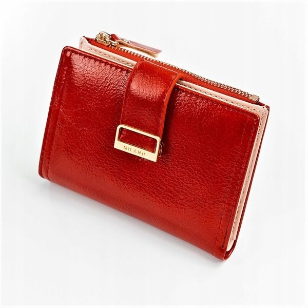 Жіночий гаманець з еко шкіри червоний 1041