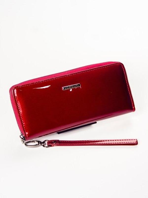 Жіночий шкіряний гаманець червоний 1209