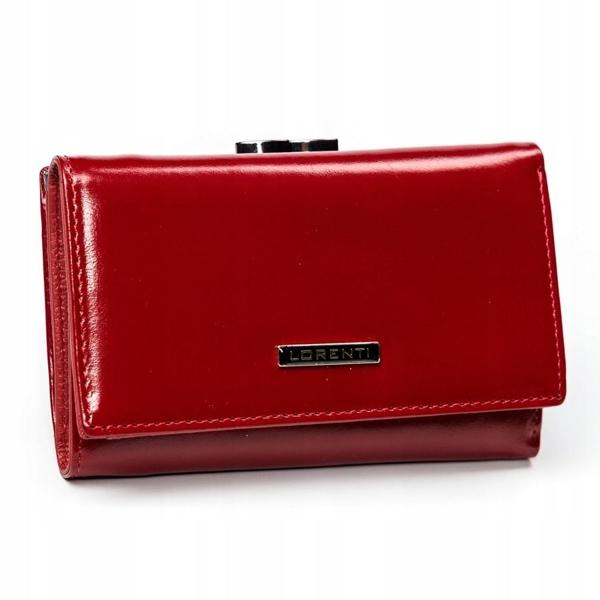 Жіночий шкіряний гаманець червоний 2907