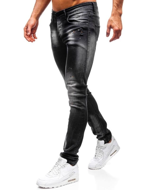 Чоловічі джинсові штани чорні Bolf 9231