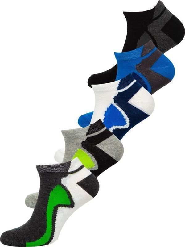 Чоловічі шкарпетки мультиколор Bolf X10049-5P 5 шт.