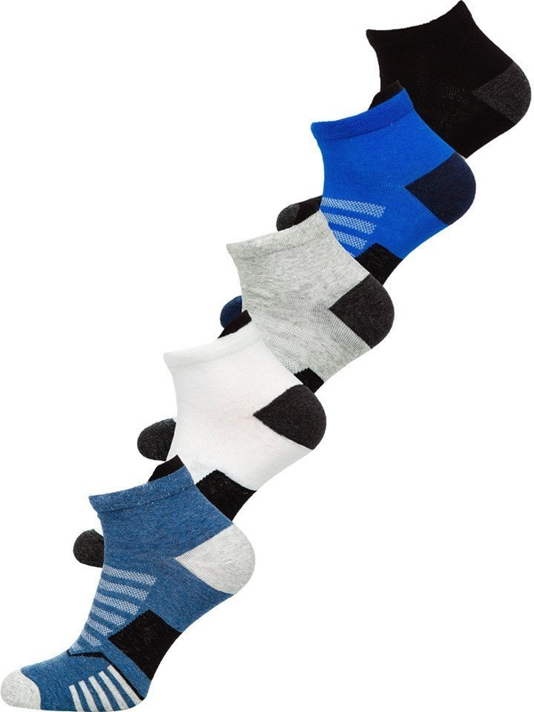 Чоловічі шкарпетки мультиколор Bolf X10135-5P 5 шт.