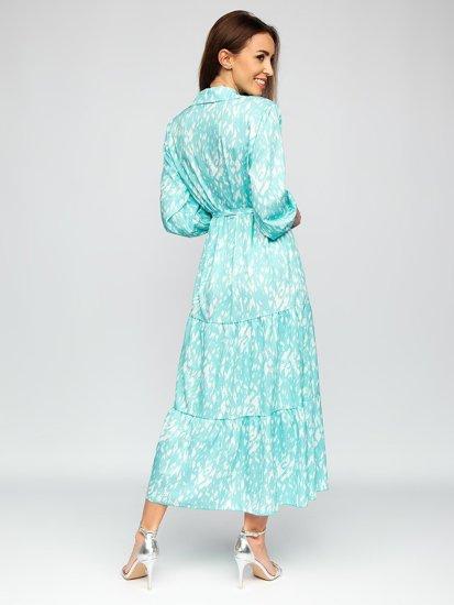 М'ятна сукня жіноча Bolf A468