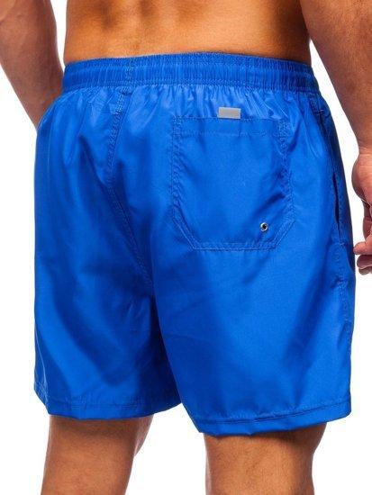Сині чоловічі пляжні шорти Bolf YW02002