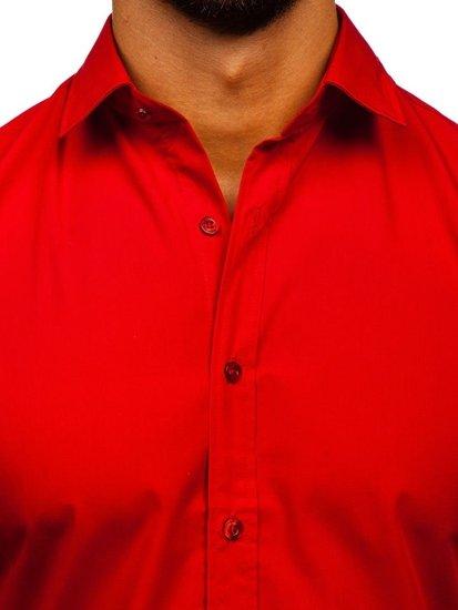 Сорочка чоловіча BOLF 1703 червона