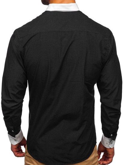 Сорочка чоловіча BOLF 2782 чорна