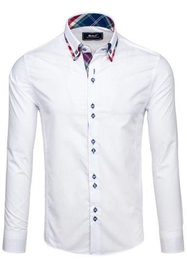 Сорочка чоловіча BOLF 4704 біла