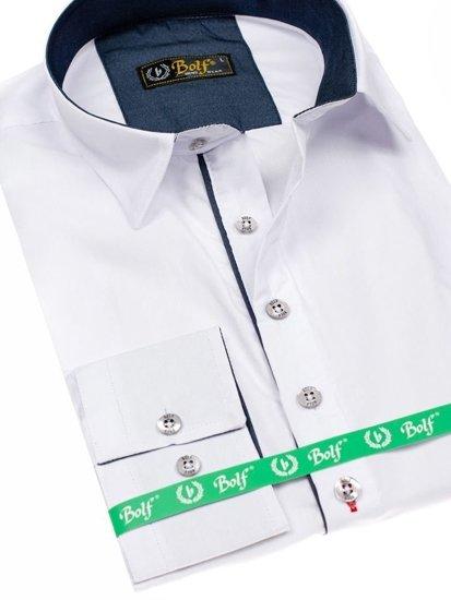Сорочка чоловіча BOLF 5791 біла