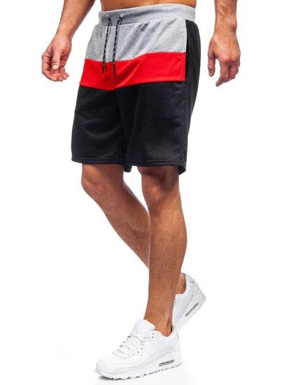 Сірі чоловічі спортивні шорти Bolf KS2565