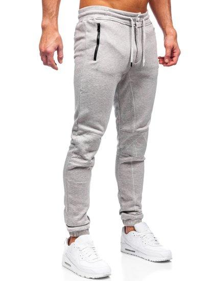 Сірі чоловічі спортивні штани Bolf 4966