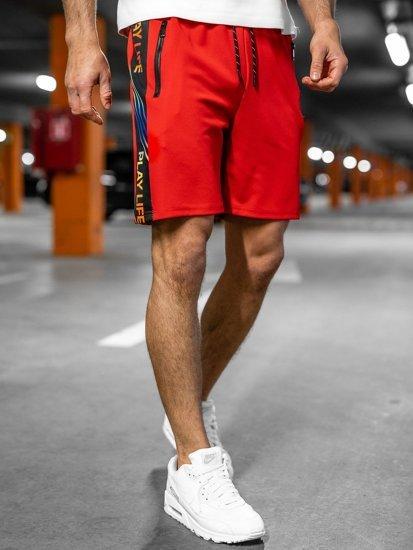 Червоні чоловічі спортивні шорти Bolf KS2592