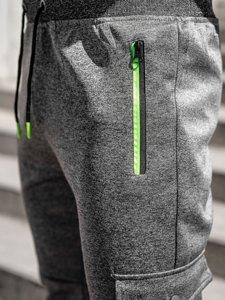 Графітні чоловічі спортивні штани карго Bolf K10279
