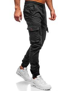 Графітні чоловічі штани джоггери карго Bolf CT6702S0