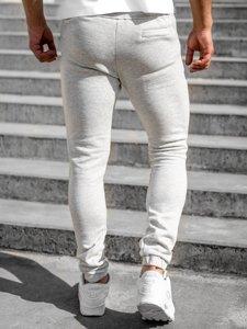 Світло-сірі чоловічі спортивні штани Bolf 4966