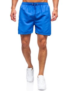 Сині чоловічі пляжні шорти Bolf YW07001