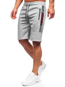 Сірі чоловічі спортивні шорти Bolf JX211