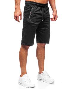 Чорні чоловічі спортивні шорти Bolf JX505