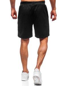 Чорні чоловічі спортивні шорти Bolf KS2595